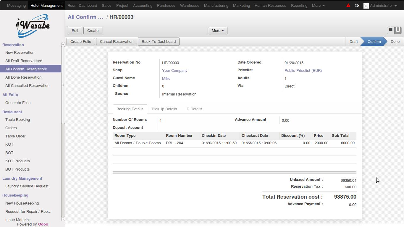 Hospitality ERP Software Saudi Arabia | Hotel Management